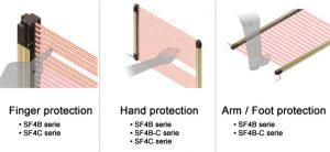 Sunx Ultra-Slim Light Curtain SF4C Series