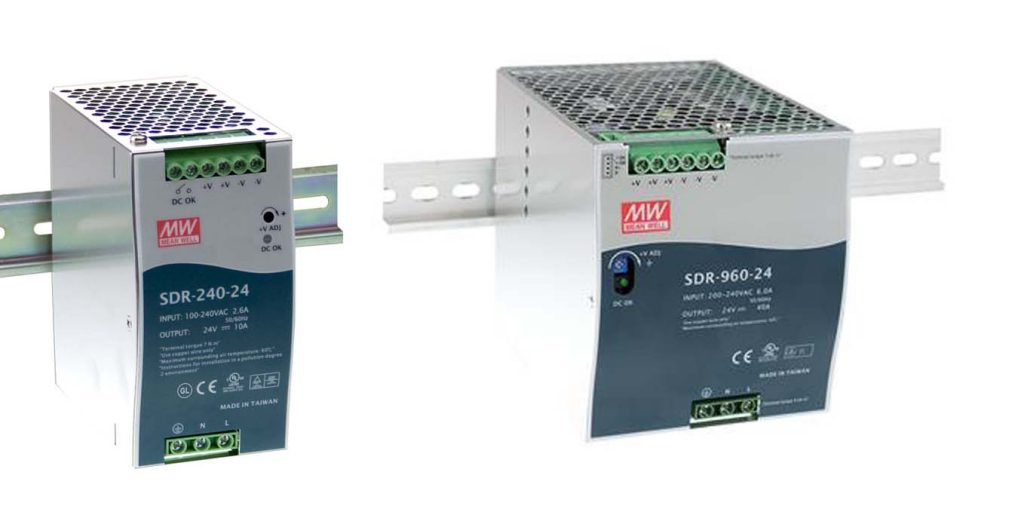 MEANWELL SDR DIN rail power supply