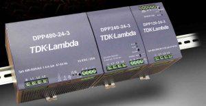 TDK-Lambda DIN Rail Mount Power Supplies DPP Series