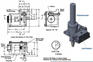 Duff Norton Potentiometer SKA6200T Series